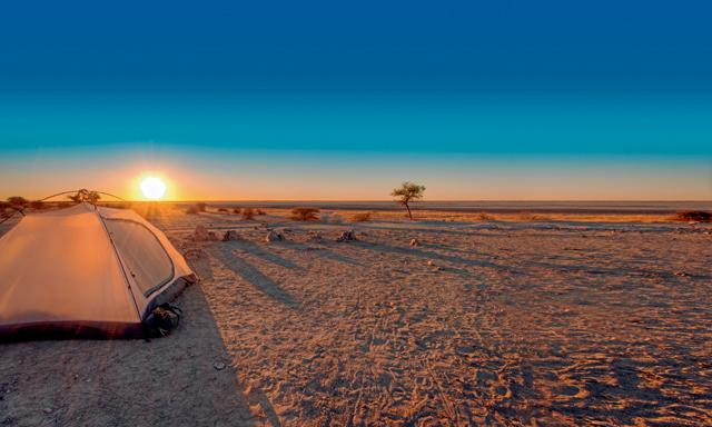 Best desert camping spots in the UAE